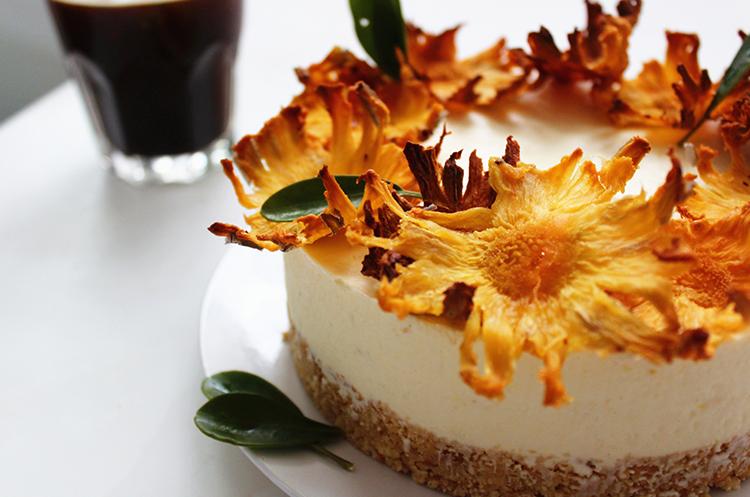 菠萝花芝士蛋糕