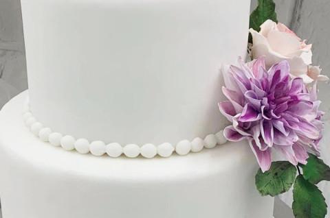 翻糖蛋糕覆面及组装