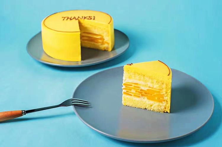 芒果蛋糕【晨曦】