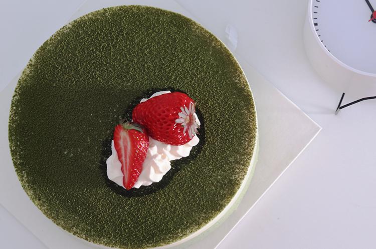 抹茶豆腐提拉米苏