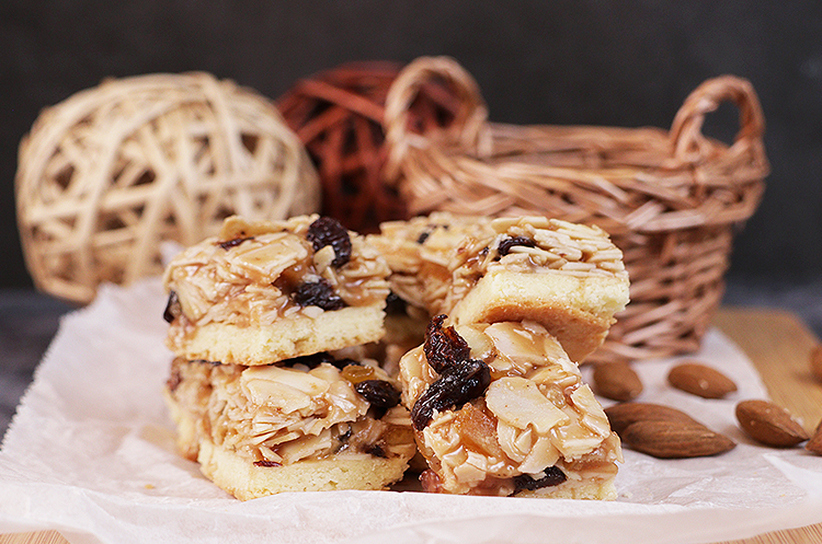基础法点3:焦糖杏仁脆饼&烤蛋白霜饼