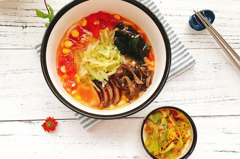 日式卷心菜味增拉面&香辣咖喱卷心菜