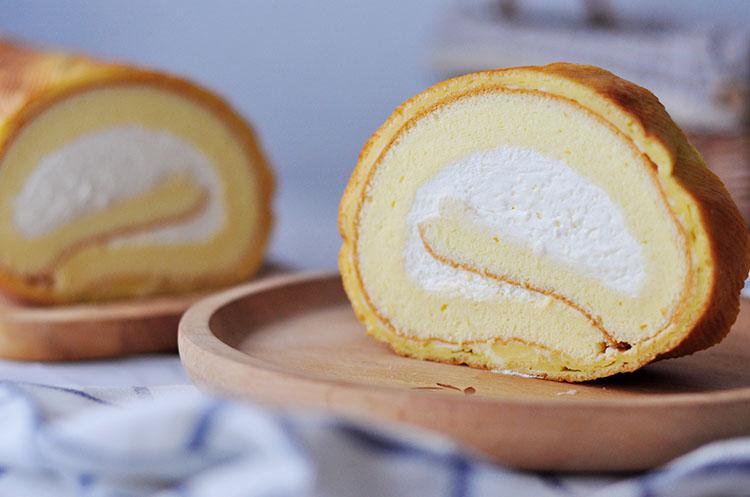 日式泡芙蛋糕卷