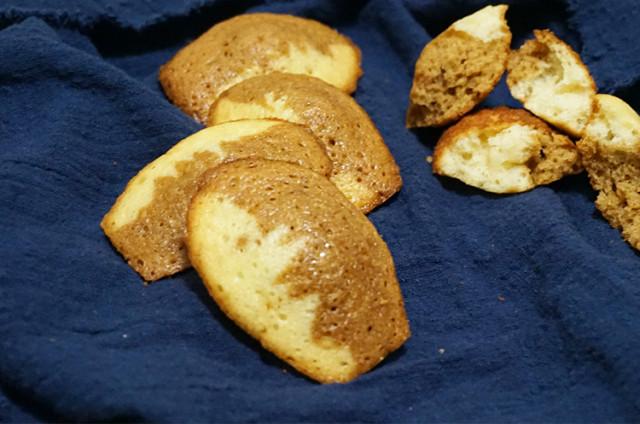 双色玛德琳蛋糕