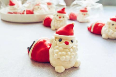 圣诞老人造型马琳糖
