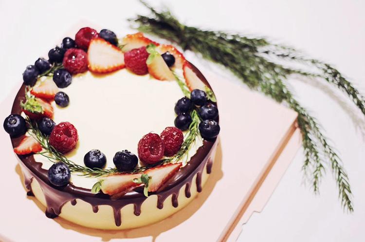 造型蛋糕—浆果花环