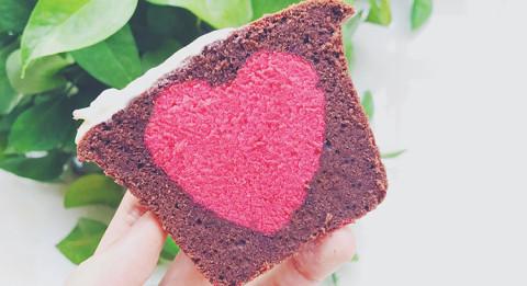 小心机红丝绒可可磅蛋糕