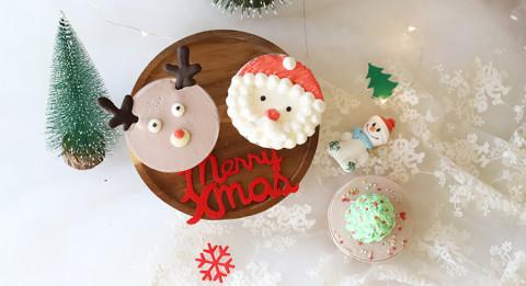 圣诞草莓蛋糕奶油杯
