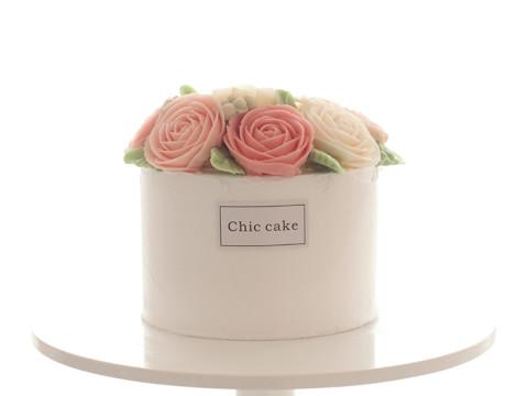 小清新韩式裱花蛋糕