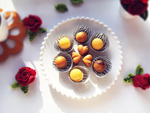 香柚牛奶糖和巧克力太妃糖