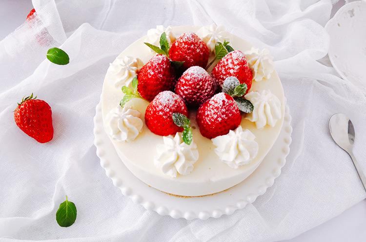 草莓芝士蛋糕·冰淇淋口感