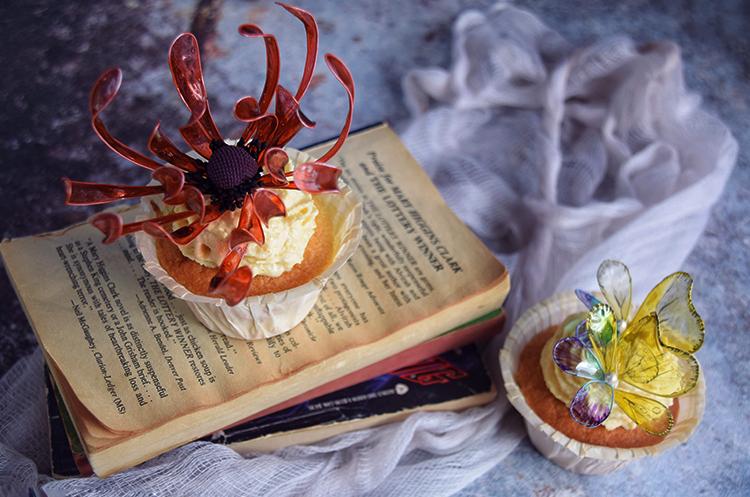 水晶永生彼岸花·杯子蛋糕
