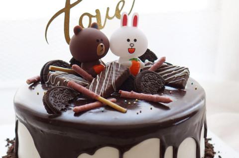 linetown造型蛋糕