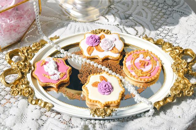 唯美婚礼翻糖饼干