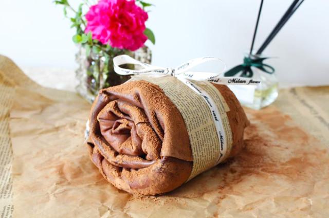 下午茶毛巾卷·简单易做