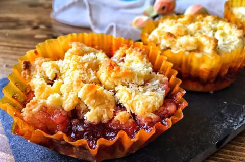 爆浆草莓椰香酥
