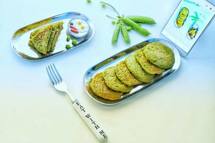 豌豆全麦饼