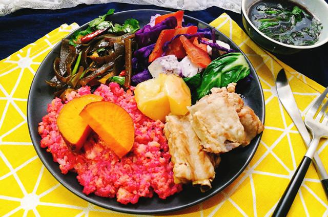 春日增肌 果香排骨杂蔬全餐