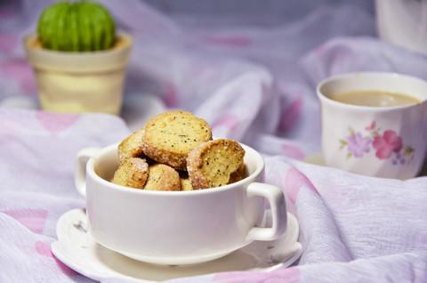 巧克力盆栽&红茶酥饼&奶茶
