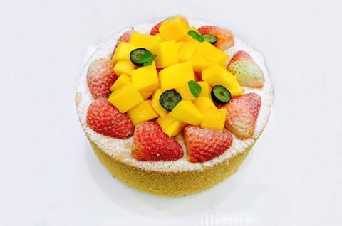 香草流心蛋糕