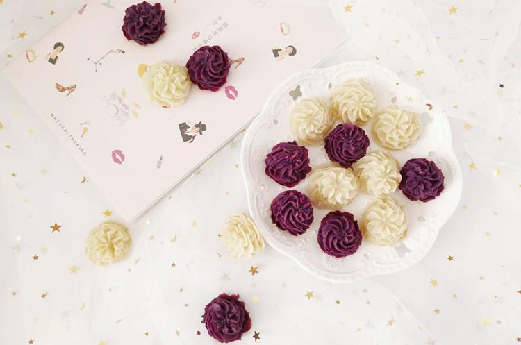紫薯&土豆泥曲奇