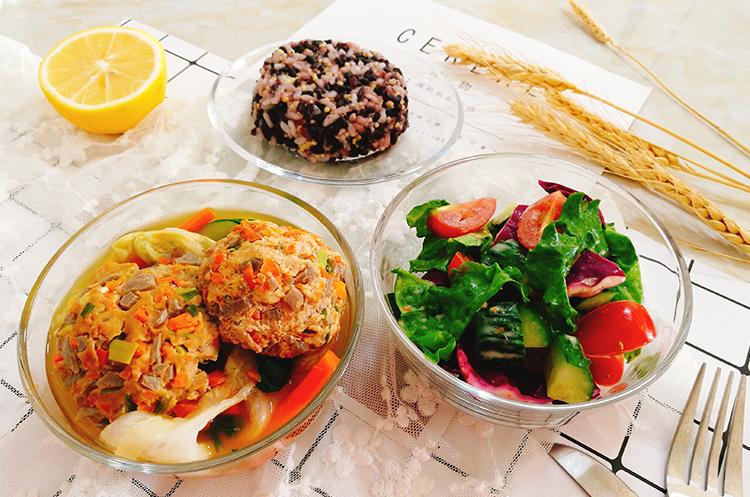 魔芋肉丸杂蔬套餐-夏日减脂