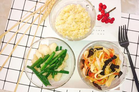 芦笋巴沙鱼杂蔬套餐-夏日减脂