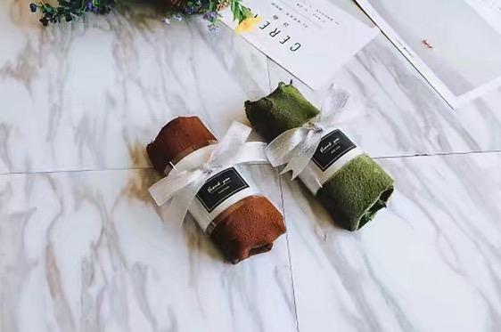 网红千层毛巾卷