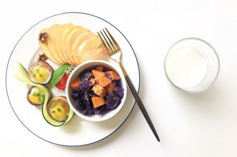 香菇蒸蛋早餐&青椒牛肉便当