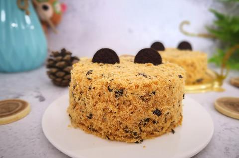 肉松小贝进阶之网红沙嗲蛋糕