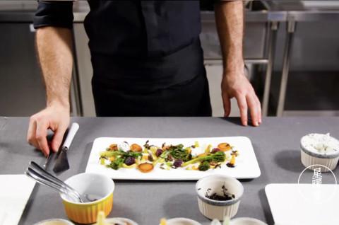 法式料理 缤纷素食锦盘