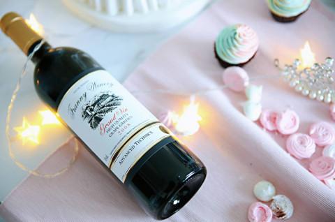 自酿葡萄酒和法式奶香溶糖-梦主题翻糖甜品台三