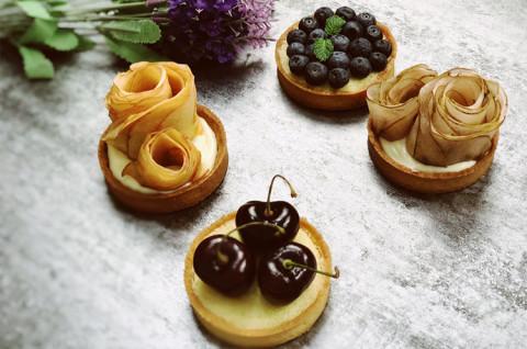 三种酱料玩转法式水果挞