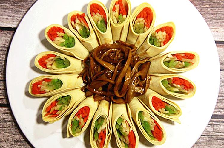 素京酱肉丝