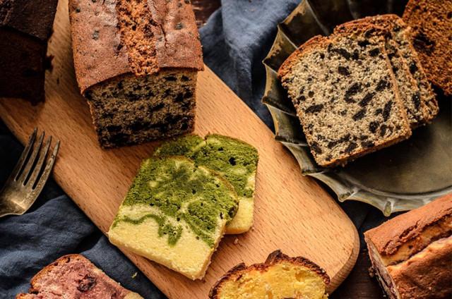 升级版磅蛋糕|红糖枣泥&大理石