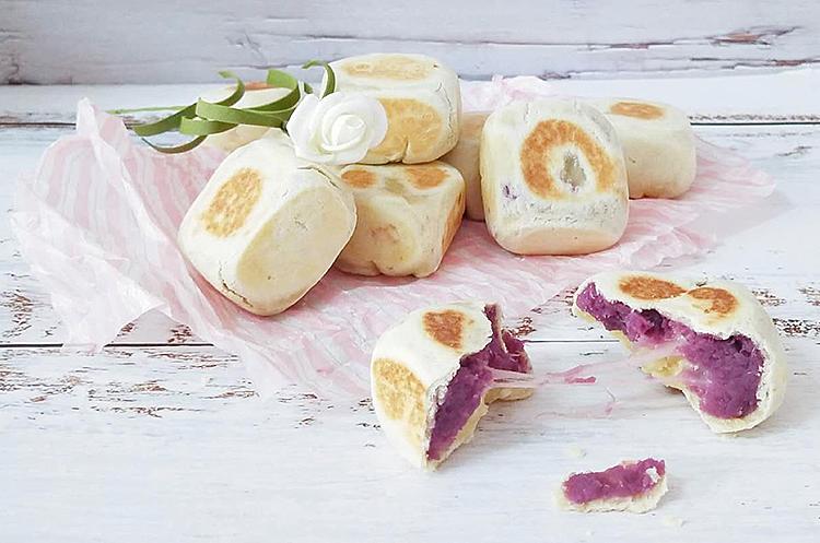 紫薯奶酪&巧克力蔓越莓仙豆糕