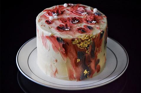 跳舞的蛋糕-生如夏花油画