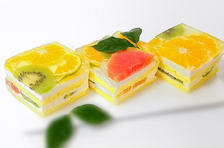 水果果冻蛋糕
