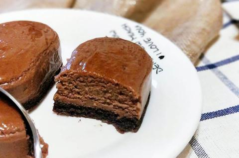 巧克力半熟芝士