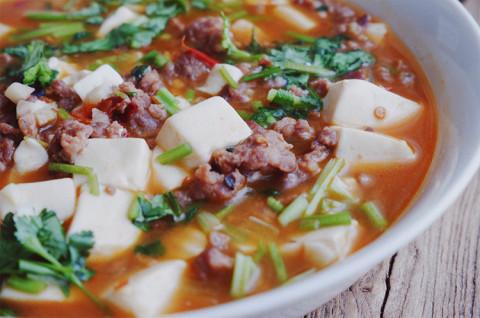 鲫鱼豆腐汤&肉沫豆腐