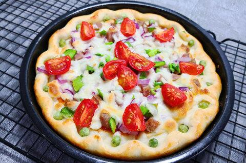 夏威夷披萨&榴莲奶酪披萨