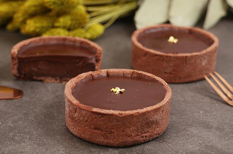 基础法点9:法式巧克力塔
