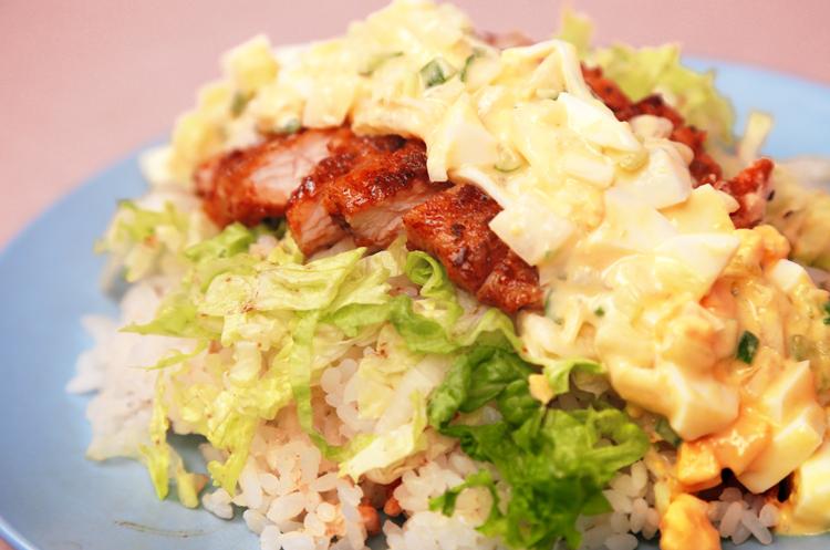 宫崎风鸡肉酸甜丼饭