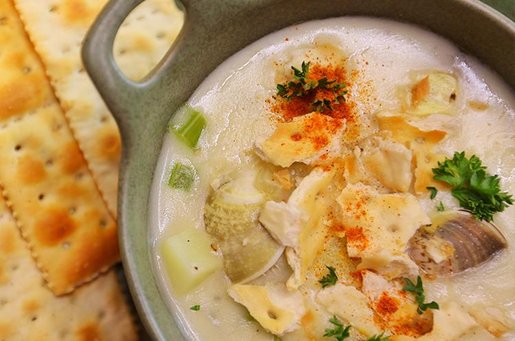 法国马赛鱼汤+新英格兰蛤蜊浓汤