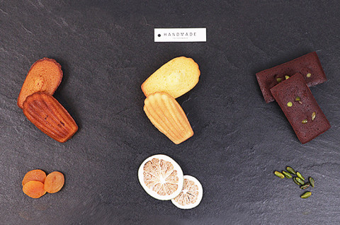 基础法点6:柠檬玛德莲&焦糖杏桃玛德莲&开心果巧克力费南雪
