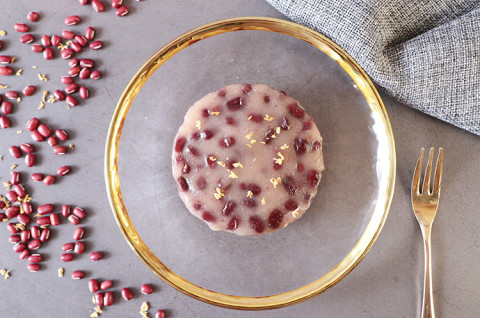 桂花红豆小年糕