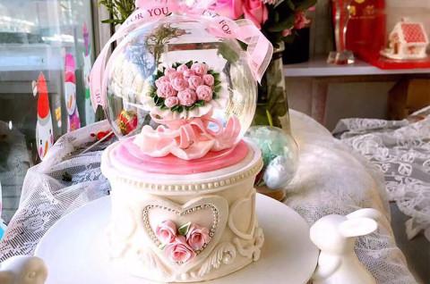 水晶球翻糖蛋糕