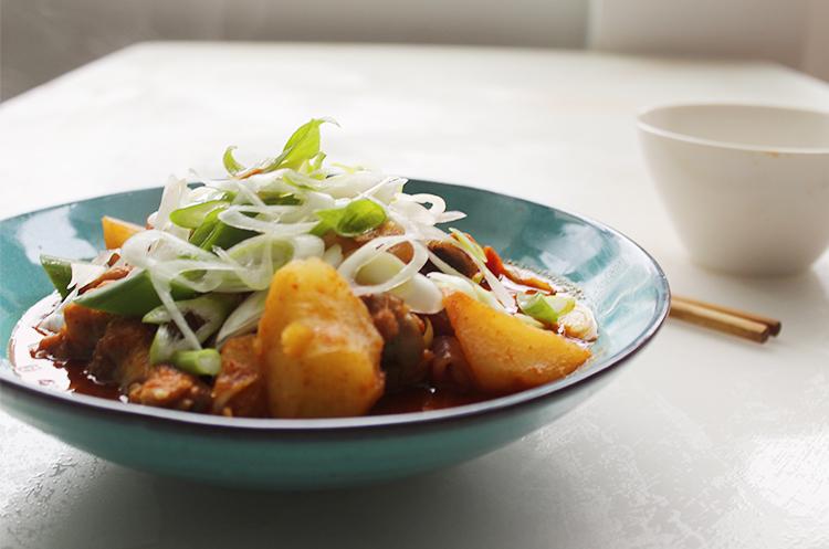 韩式辣炖鸡