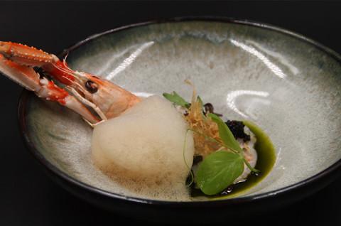 炙烤海鳌虾刺身