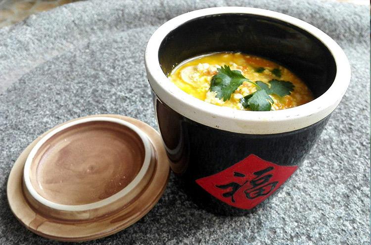 素蟹粉豆腐
